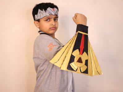 How to make Baal Veer Costume