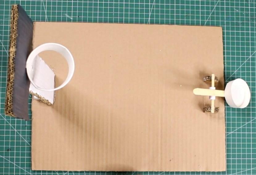 Basketball Game DIY cardboard craft