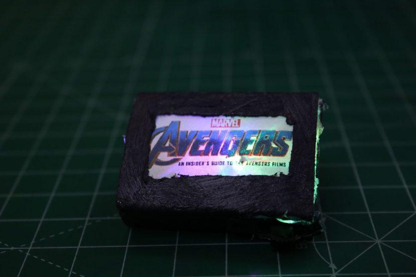 Hoe to make Avengers Badge