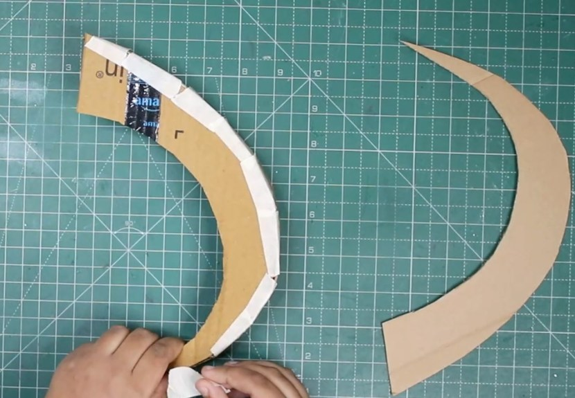Loki's Horns making