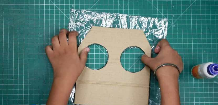attaching skirt with base
