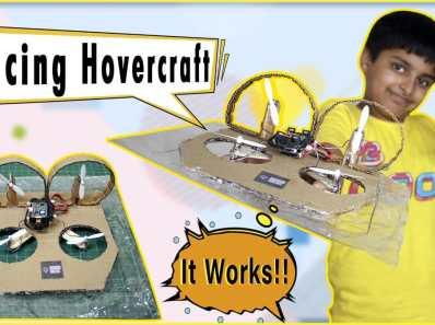 racing hovercraft