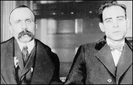 Bartolomeo Vanzetti y Nicola Sacco