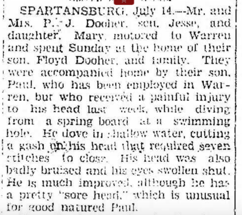Titusville Herald 7/15/1930