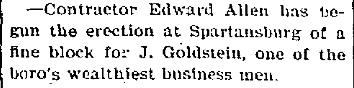 1898 July 16 Goldstein