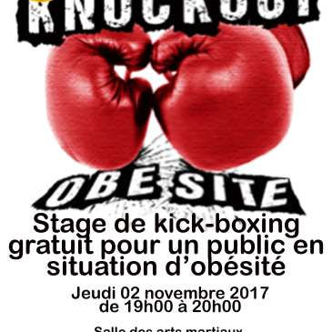 Kickboxing vs obésité