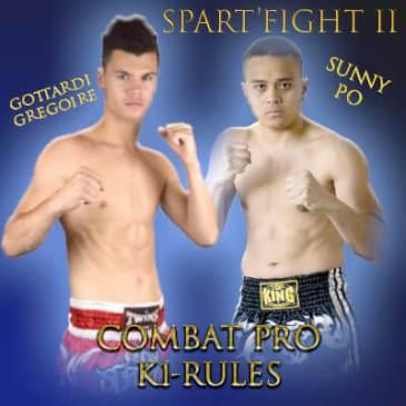 Spart'Fight 2 : Gottardi G vs Sunny Po