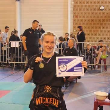 Championnat de ligue kickboxing gr 3