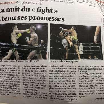 Spart'fight 3, la presse en parle…