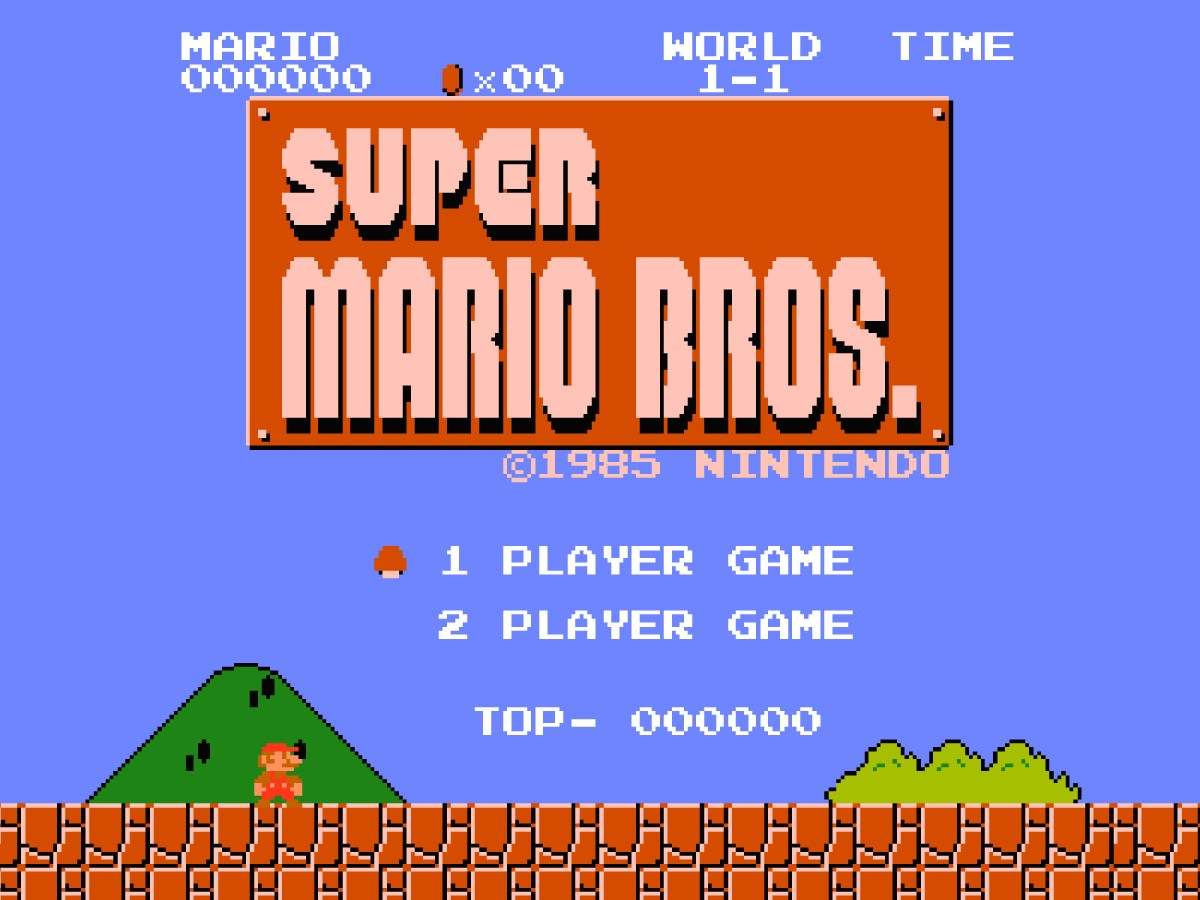 Super Mario Bros (1985) Overworld / Main Theme