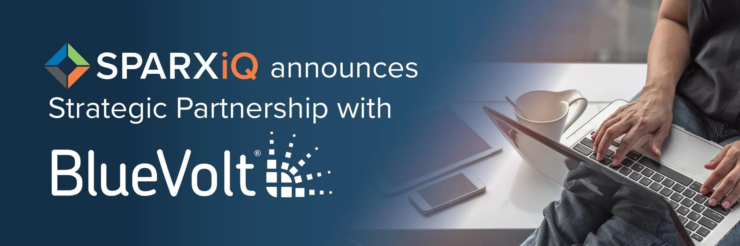 SPARXiQ BlueVolt Partnership Announcement