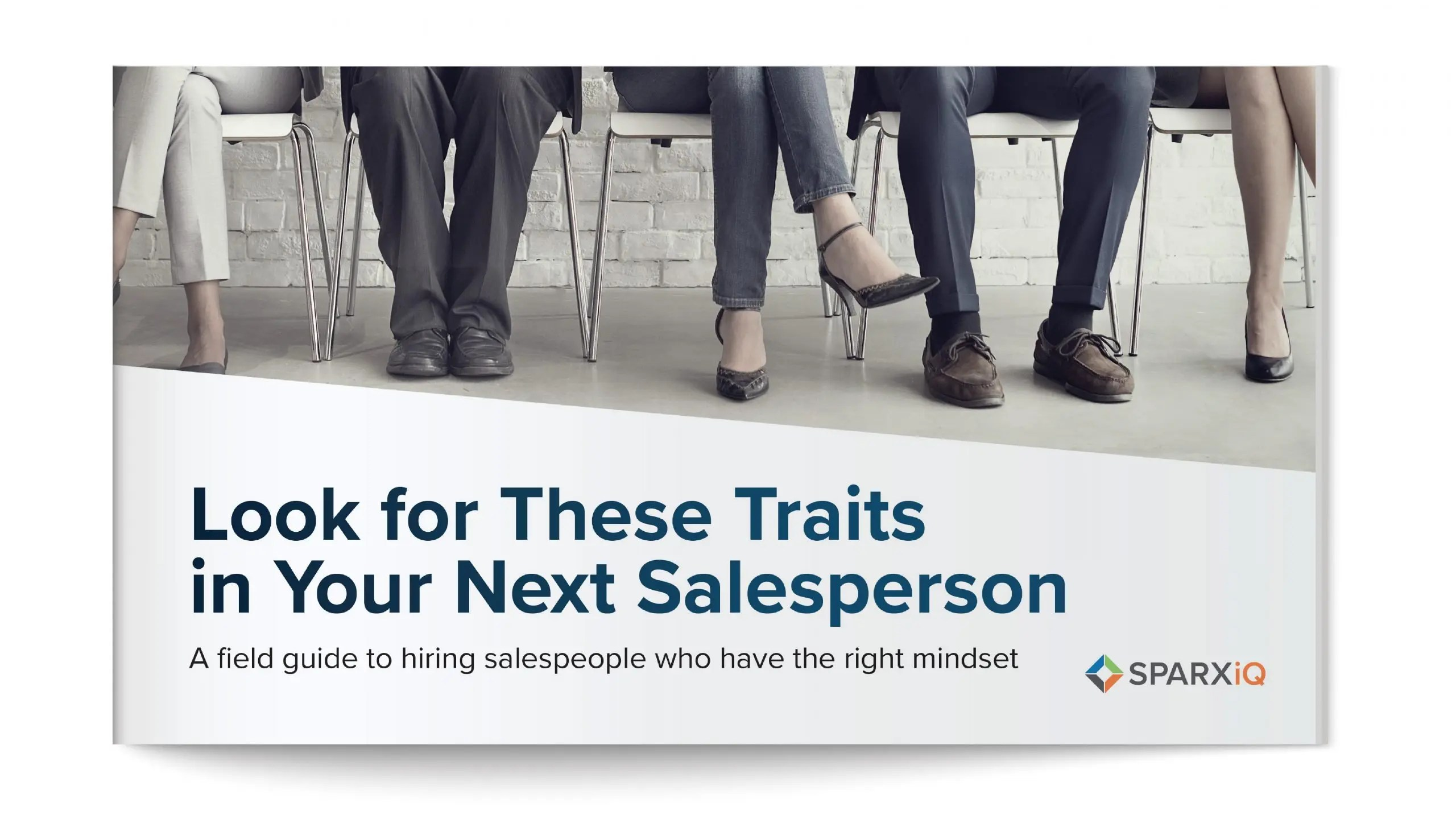 Field guide to Look for These Traits in Your Next Salesperson - SPARXiQ
