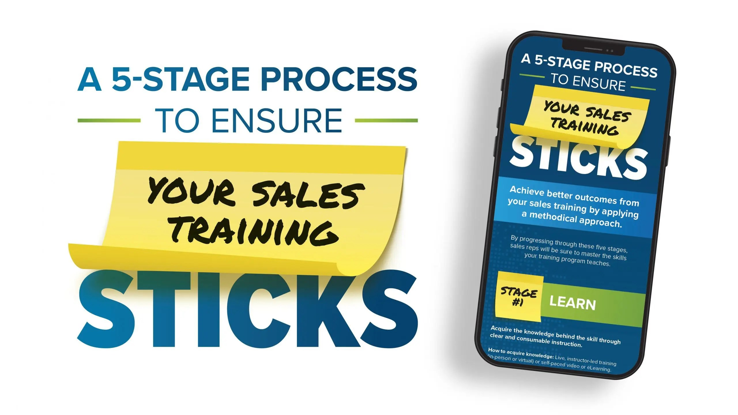 5 Stages to Ensure Your Sales Training Sticks