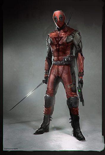 Deadpool costume concept