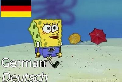 """SpongeBob - """"Ich gehe am Strand"""" in 16 Sprachen"""