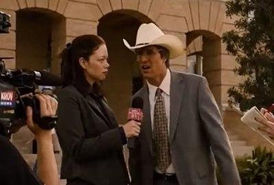 "Matthew McConaughey sagt ""Alright"""