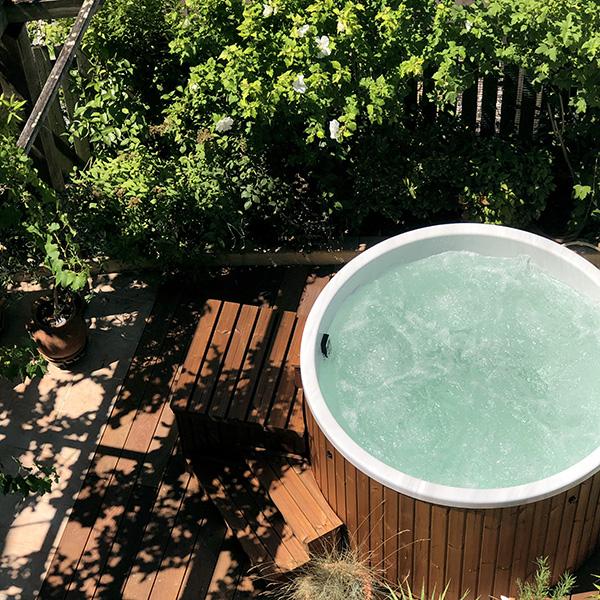 bain nordique a remous