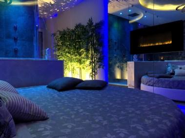 spa privata in camera camino