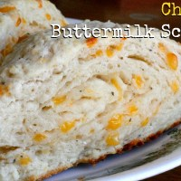 Cheesy Buttermilk Scone Recipe
