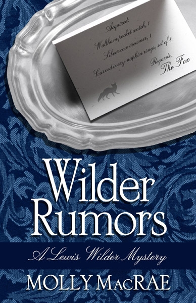 Wilder Rumors—Lewis Wilder takes on the job of curator at a small town's local history museum. Mystery soon follows. http://amzn.com/0990842851