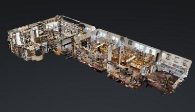 Rittersche Buch- und Kunsthandlung 3D Model