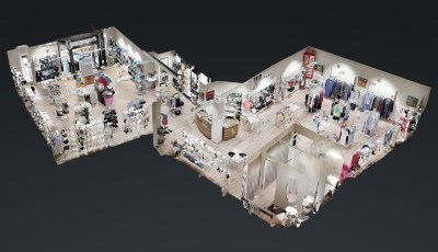 Wäscheline 3D Model