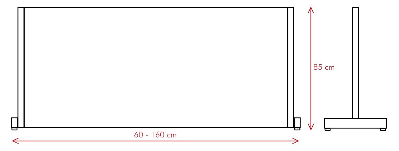 vector mampara proteck m - Ptoteck M