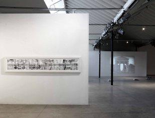 andrea-aquilanti-piazza-navona-2012-1-di-2-elementi-stampa-e-disegno-su-carta-305x60x4cm-cad-spazioborgogno-milano-foto-di-pietro-privitera