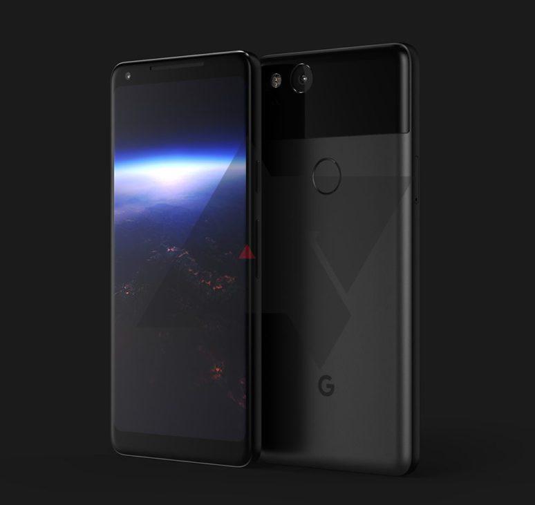 Google Pixel XL 2 svelato render sul web