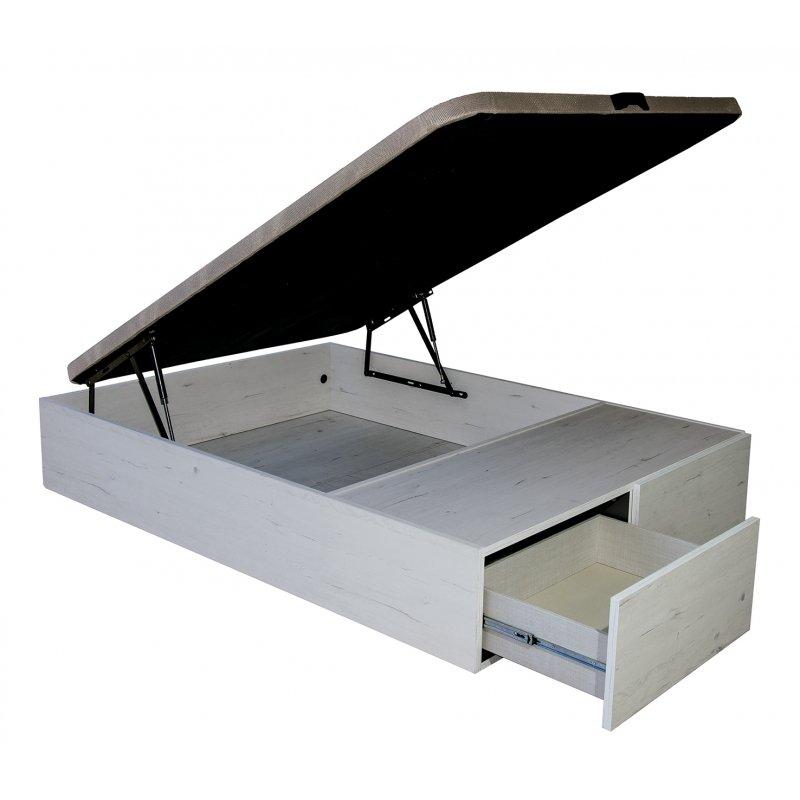 Canape Madera Modelo 2 cajones Basic