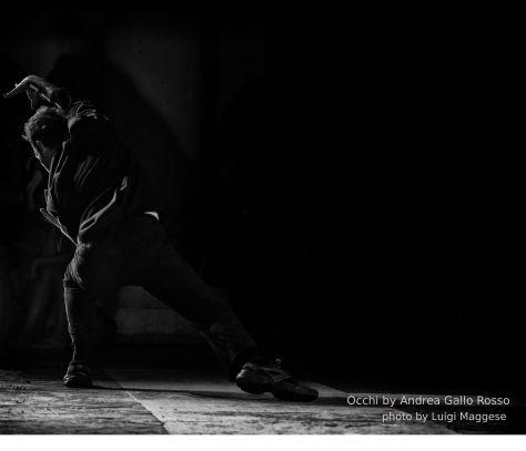 Coreografia d'Arte III°edizione, Occhi, corpi Urbani, Luigi Maggese, laterale, crediti Andrea Gallo Rosso e Luigi Maggese