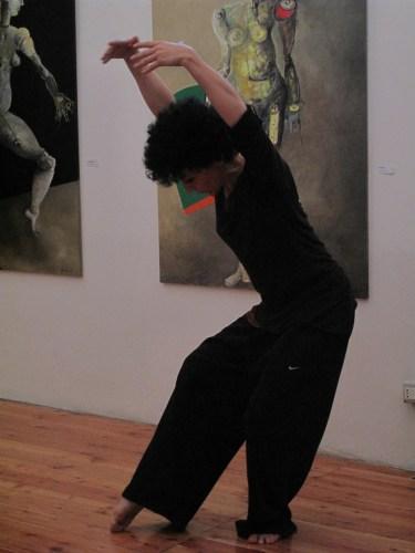 danza contemporanea, Spazio Tadini, Federicapaola Capecchi su Francesca Magro, Coreografia d'Arte 2012
