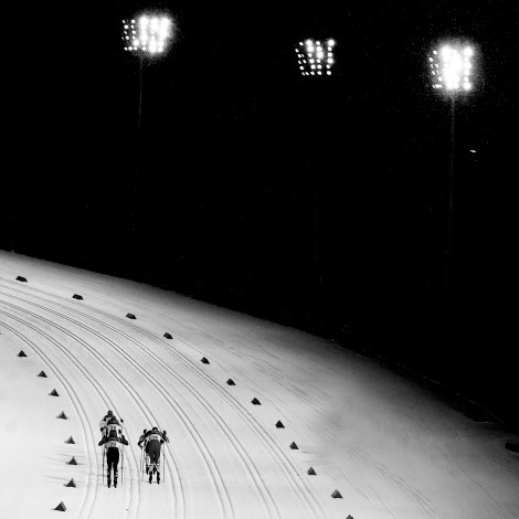 Olympics Winter Games PyeongChang 2018, Men's Sprint Classicm Pursuit, Silver Medalist Italy's Federico Pellegrino, Alpensia, Cross Country Centre (KOR), Photo Giovanni Auletta, Pentaphoto