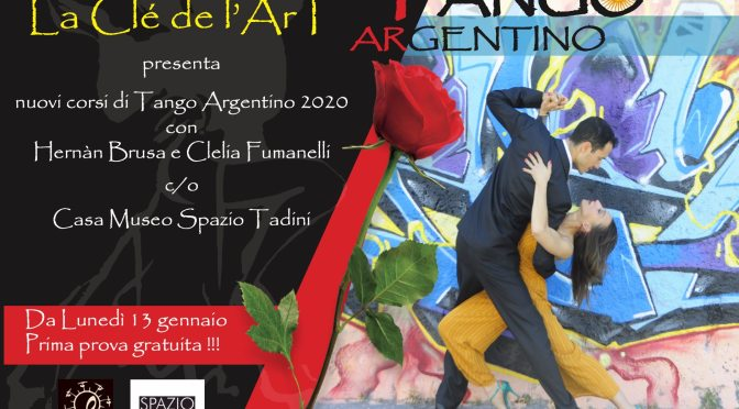 corso di tango 2020