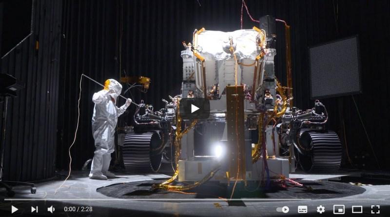 Perseverance ai tempi dei TEST nei laboratori della NASA