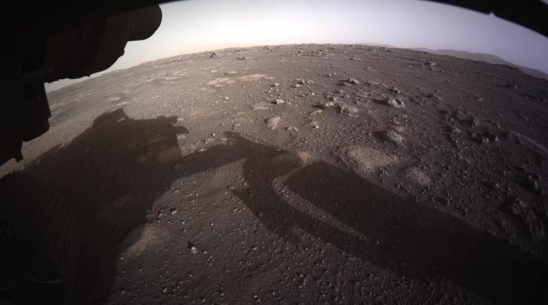 Perseverance da Marte prime FOTO A COLORI