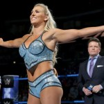 WWE: L'arrivo di Charlotte all'arena (video)