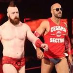 WWE SPOILER: Sheamus e Cesaro commentano i fatti di Raw (video)