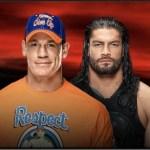 WWE: Ufficiale il match tra Cena e Reigns per No Mercy
