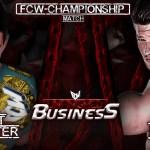 FCW Unfinished Business: annunciato il primo match