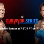 Report: WWE Survivor Series 2017