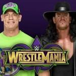WWE: John Cena vs. The Undertaker continua a non essere pubblicizzato per Wrestlemania