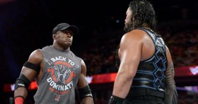 WWE: Roman Reigns commenta il ritorno di Bobby Lashley