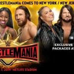 WWE: Svelata la data di messa in vendita dei biglietti per WrestleMania 35