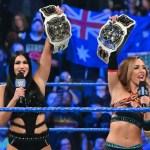 WWE: Chi hanno affrontato le Iconics a Smackdown Live?