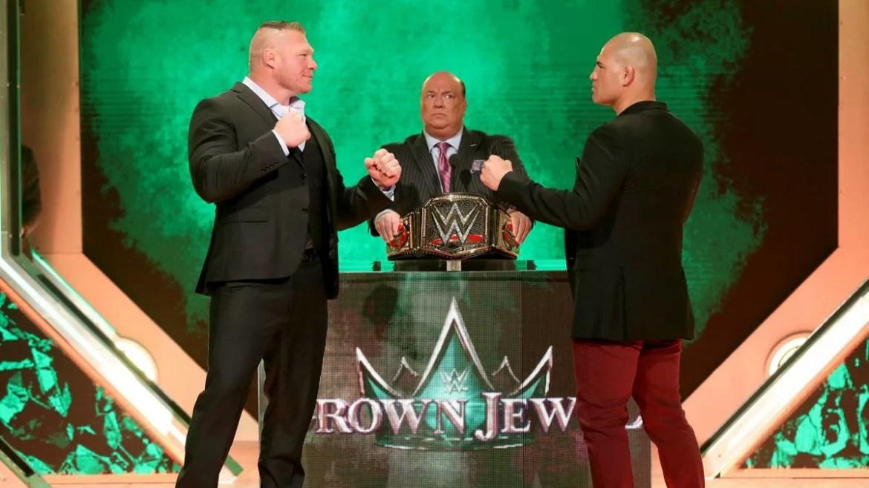 WWE: Eric Bischoff parla di Brock Lesnar e Cain Velasquez