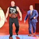 WWE SPOILER: Clamoroso annuncio di Brock Lesnar e Paul Heyman