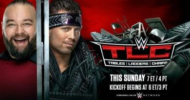 WWE: Aggiornamenti sul Main Event di TLC