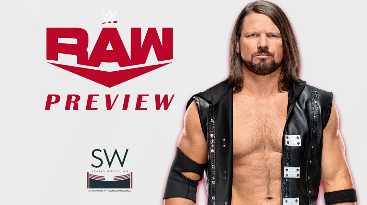 WWE: Preview Monday Night Raw 30-11-2020
