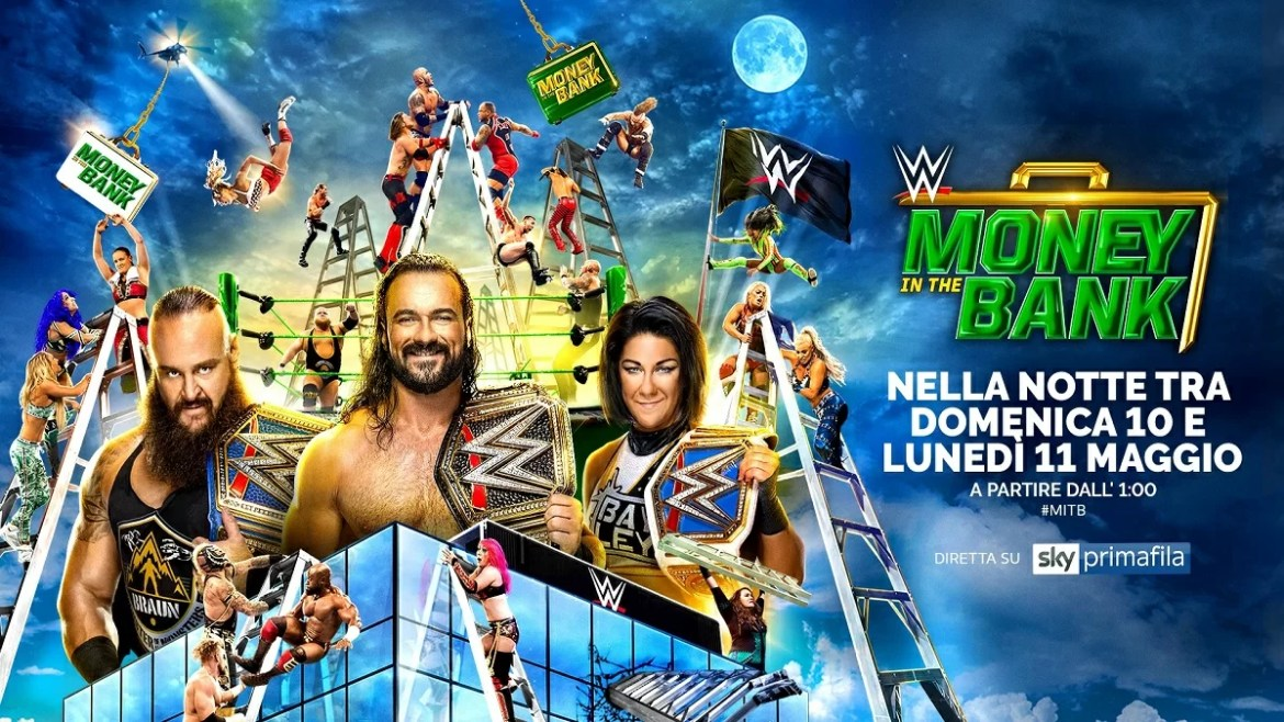 WWE: Risultati Money in the Bank 2020